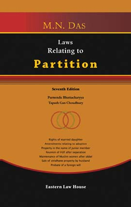 M.N. Das' Laws Relating to Partition