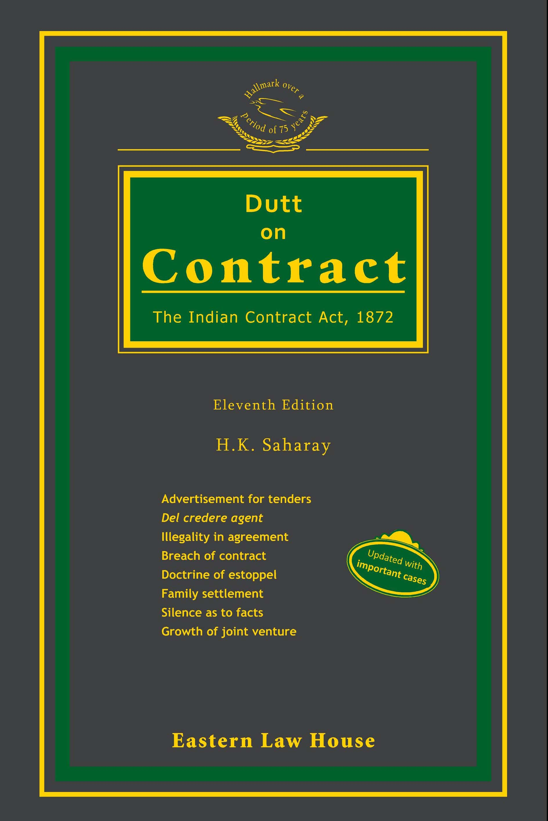 Dutt on Contract